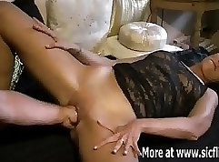 Chick Has Fist Around Her Private Rivi Position