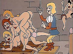 AnalAcrobat girlonde takes dick in cunt