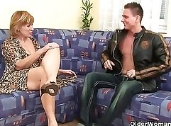 Claudia Valentine plays with her wet hairy pussy