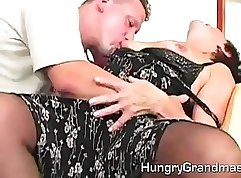 Busty New York Slut Teasing Her Hairy Twat
