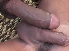 Beautiful ebony ass fucking