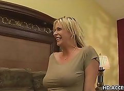 Big cock mature milf gets anal fucked