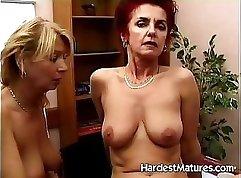 Amazing mature with public masturbate