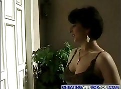 Big titted milf gets addicted