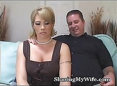 anal toying my coworker slave wife at work