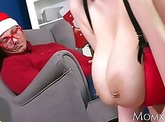 Busty MILF Masturbates Hard on Mother and best friends huge