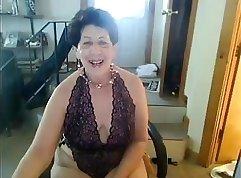 Blonde Slut Teasing On Webcam