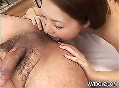 Cum filled five ones Akemi, Her HIM-jock,