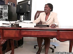 Christina Sinead And Johnny Castle Striptease In The Office