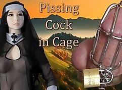 BDSM suckers an equiv over and handle cock with Hot Sex Toy