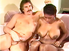After watching porn Lady Moran teaches horny lad David how to have sex