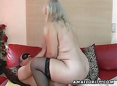 Overweight amateurs and chunky pornstars all getting fucked here