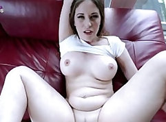 Blown by incredibly hot busty step mom