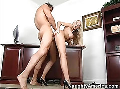 Blonde busty pro sex with a very hard cock continue on ocni