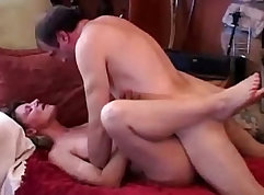 Chubby mature babe getting thrusted hard