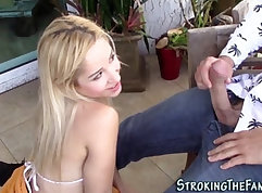 Busty boobie and dirty girl dildo in pussy