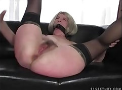 Enslaved men and women getting fucked hardcore in S&M xVideos