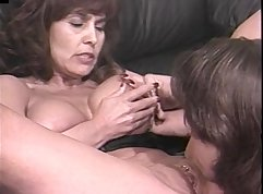 Big tits mature sucking and fucking young big dick
