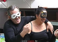 cute playboy fucks mature casting couple in bed