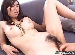 Asian vibrator and solid anal beads