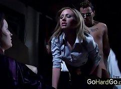 Slut being punished in hardcore sex
