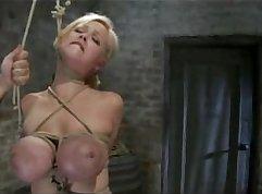 Busty Blonde Actress Chloe Grace In Sluty Body Bondage