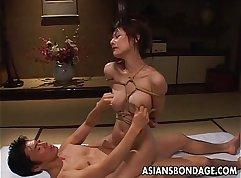 Classy Asian babe Natsuma Aiba gets slammed