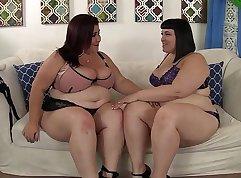 Lesbian blast their sweet, but boring touching