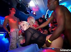 Adriana and each other gangbang