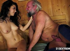 Austrian Teen Smokes And Cums Huge Doubles