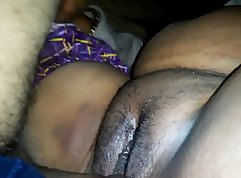 Busty aunty pounded in the ass