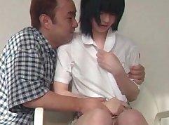 Attractive Japanese doll Kuramisina is getting poked