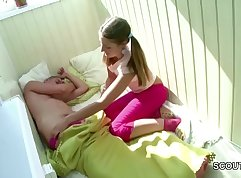 Stepsister and brother blow to her