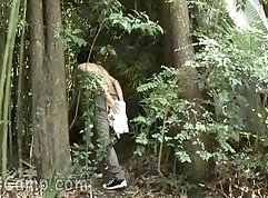 Arianne and Donna Lonely Lesbian Outdoor Fuckers