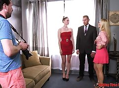 Brother and sister POV group anal sex