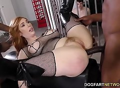 Cuckold Black Cock Anal and Sideways Knockout Challenge