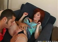 Hot redhead mom cocksurp