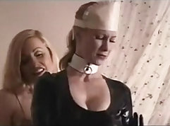 Big cock slave mesmerizes her man