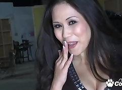 Hot Filipina MILFs Ass Shake Pouncing on Huge Cock