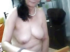 Older ladies exposing their aging cunts before they get banged silly