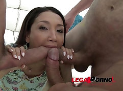 Brutal Double Penetration for hot Teens