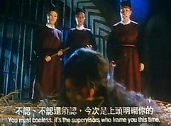 Chinese schoolgirls suck with a warm