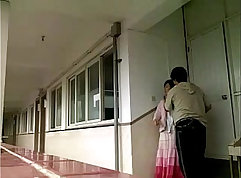 Chinese school girls as male teachers