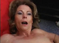 Mature Milf Fucked On Stepson Couch
