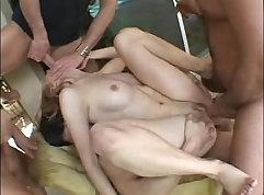 Gay orgy on Tinder