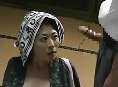Crazy Japanese Mom Rinka Matsuoka loves skinny for her big titties