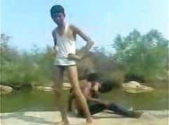 Naked gay indian winners get slammed by the pool