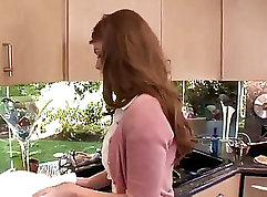 BrookeWife Faye Reagan Oils Her Bushy